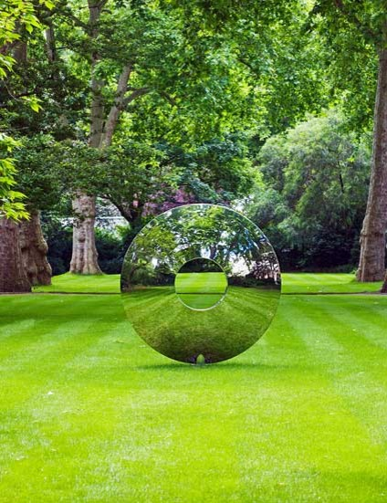 contemporary garden statues and yard art Torus Company